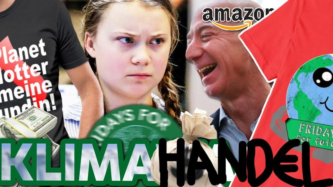 Fridays For Future FAKE Shirts! Warum AMAZON schweigt - und mitverdient!