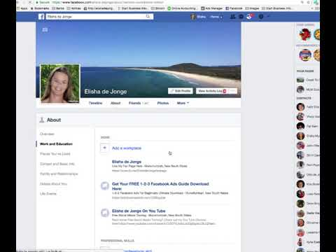 How To Add A Workplace To Your Facebook Profile