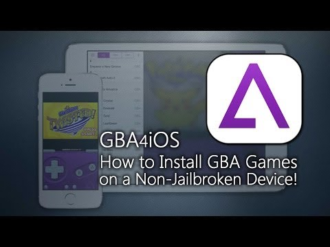How to get GBA4iOS! (GBA/GBC Emulator) - No Jailbreak Required!
