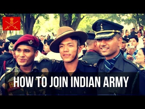 HOW TO JOIN INDIAN ARMY | Official Motivational Video - 2018