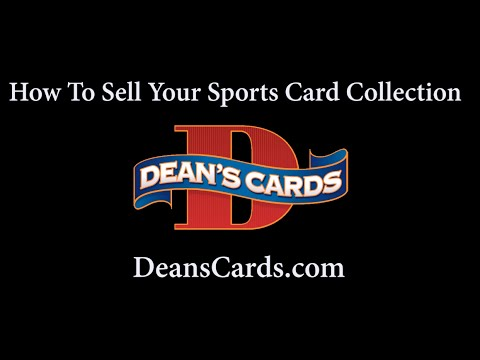 Dean's Cards - How to Sell Your Baseball Card Collection