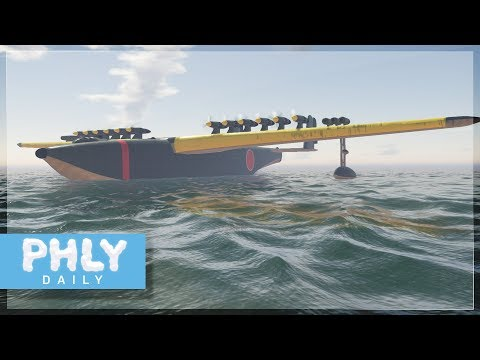 LARGEST PLANE EVER Devised | 500 Ton Flying Boat (War Thunder)
