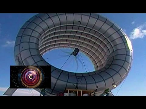 Floating wind turbine takes to the sky - BBC Click