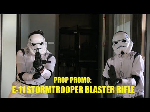 Prop Promo: Stormtrooper E-11 Blaster Rifle