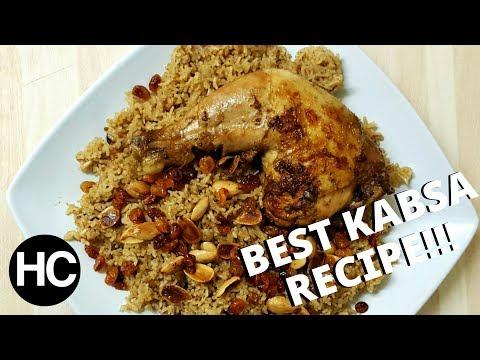 BEST EASY SAUDI KABSA RECIPE | ARABIAN RICE WITH CHICKEN طريقة عمل الكبسه السعودى | Halal Chef