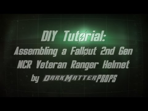 DIY Tutorial - Assembling a Fallout 2nd Gen NCR Veteran Ranger Helmet
