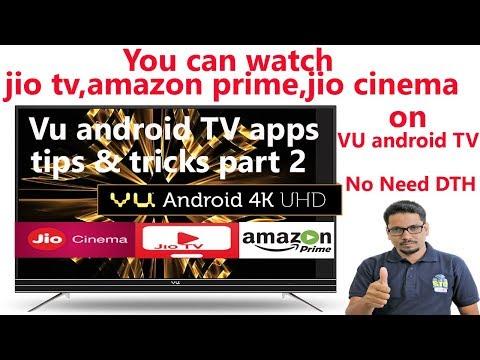 Hindi || VU android TV apps tips & tricks part 2