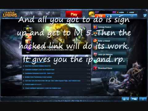 League of legends free ip and rp. No download no surveys.flv