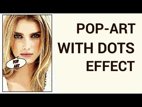 How to Create a Pop Art with Dots Effect in Adobe Photoshop