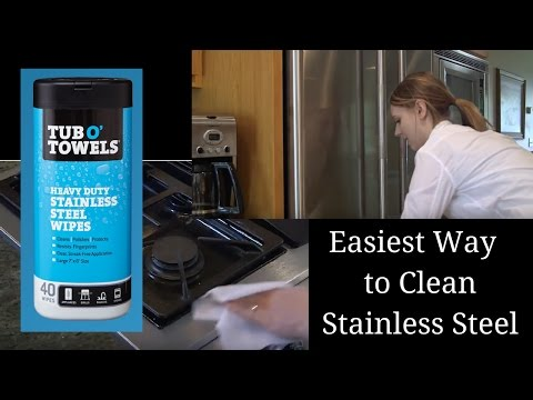 How to Clean Stainless Steel Refrigerator, Stove Top & Other Kitchen Appliances