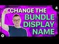 Change the Bundle Display Name in Swift 4