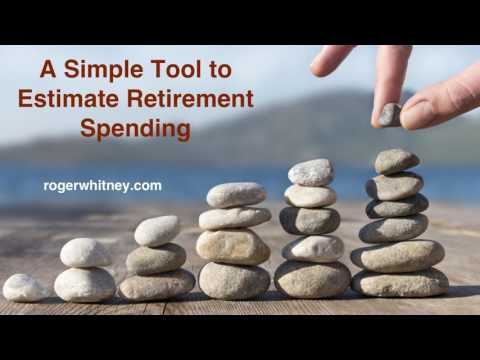 #179 - A Simple Tool to Estimate Retirement Spending