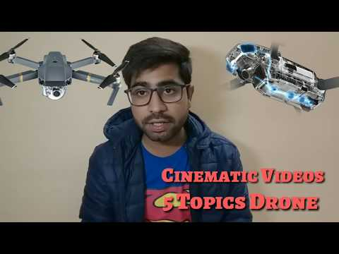 5 Easy Cinematic Shorts By Drone Learn || Drone Hindi Basic Tutorials ||