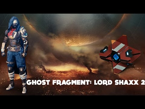 Ghost Fragment: Lord Shaxx 2 (Destiny Dead Ghost Age of Triumph)