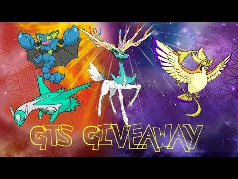 【.Live.】➼Shiny GTS Giveaway! ➼ 【GTS Giveaway!】