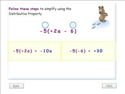 Algebra Distributive Property