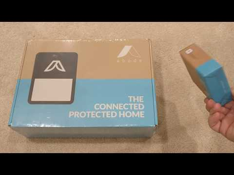 Abode Home Security System Unboxing