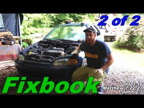 Engine Transmission Removal & Install