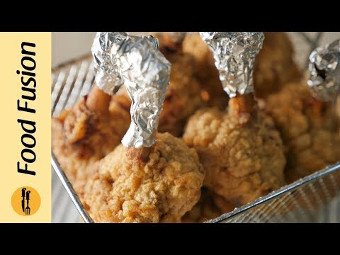 Chicken Lollipops with spicy orange sauce Recipe By Food Fusion