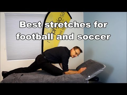 Best football and soccer stretches by Adelaide Physiotherapist
