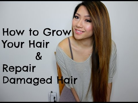 HOW TO GROW YOUR HAIR AND REPAIR DAMAGED HAIR:: DIY REMEDIES | MISSYANYI