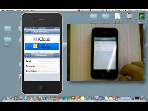 Setting up Exchange email on your iPhone or iPad