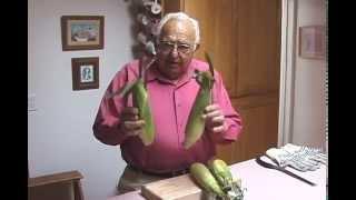 Shucking Corn Clean Ears Every Time No Music 2