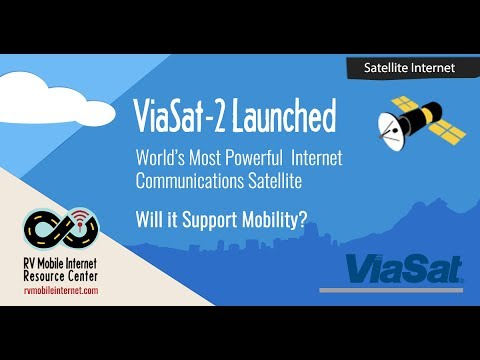 ViaSat-2 Launched - World's Most Powerful Internet Satellite - Will it Support Mobile?