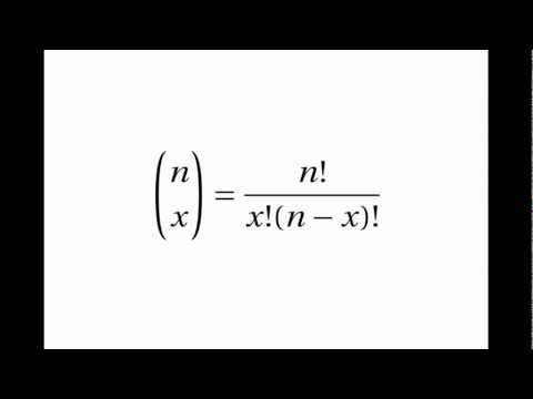 Proof of the Binomial Distribution Factorial Formula