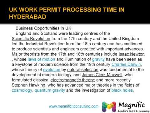 Uk work permit visa process in india