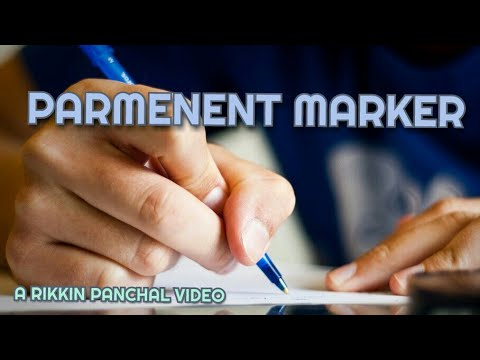 HOW TO REMOVE ANYTHING WRITTEN BY PEN| MARKER PEN |