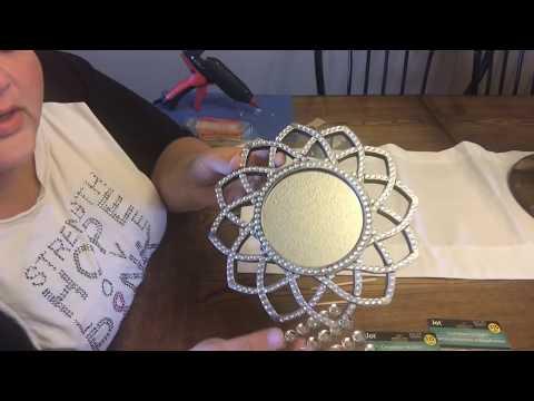 $2+ DIY Glam Mirror Home Decor