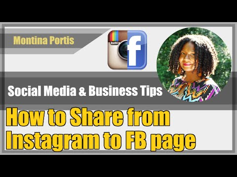 How to Post Instagram Photos to a Facebook Page