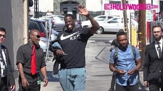 Draymond Green From The Golden State Warriors Denies His Fans At Jimmy Kimmel Live! 6.14.17