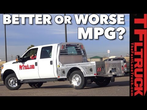 Does a Flatbed Improve Your Truck's Fuel Economy? Surprise!