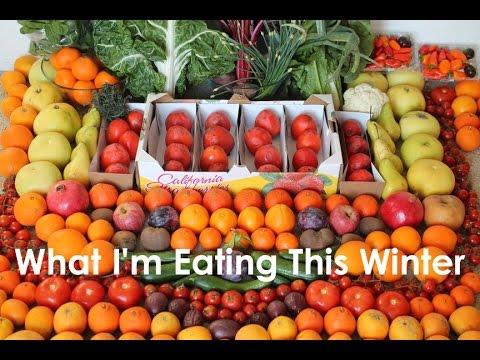 What I'm Eating This Winter 2015 Raw Vegan