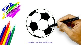 Bola Cara Menggambar Dan Mewarnai Gambar Untuk Anak