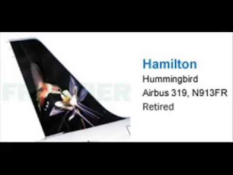 frontier airlines retired animals