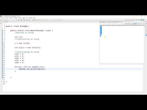 How to Use Array in Java -  Java Tutorial For Beginners