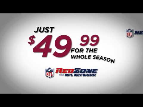 Watch every touchdown w/ NFL RedZone on GCI TV!