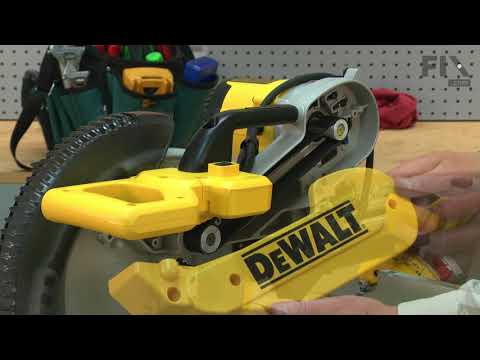 DeWALT Miter Saw Repair - How to Replace the Belt Cover
