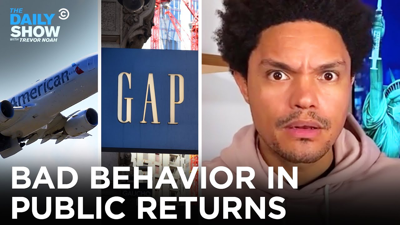No One Knows How to Behave in Public Anymore | The Daily Show