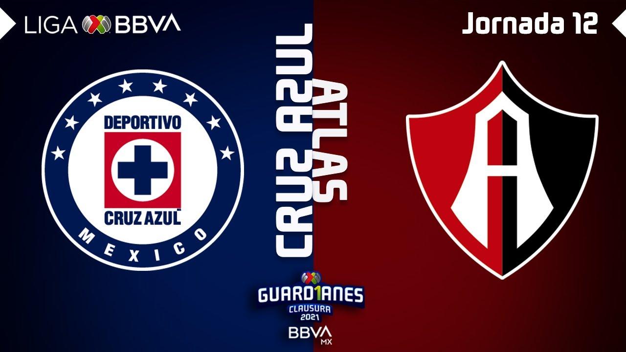 Resumen   Cruz Azul vs Atlas   Liga BBVA MX - Guard1anes 2021 - Jornada 12
