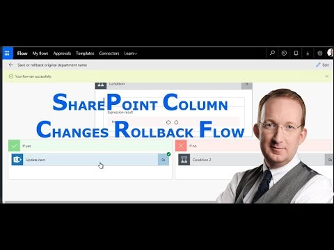 SharePoint Flow that Rolls Back Column Changes