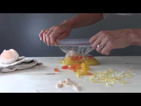 How To: Make an Omelet in a Plastic Bag