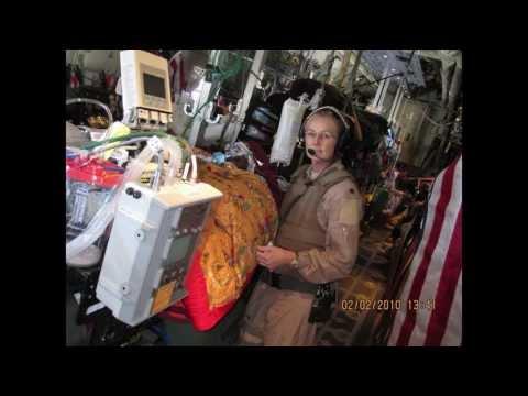 Lt Col Deborah Lehker- USAF Flight Nurse