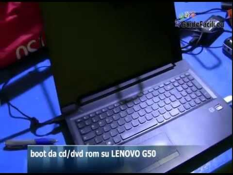 avvio da cd-dvr rom su Lenovo g50