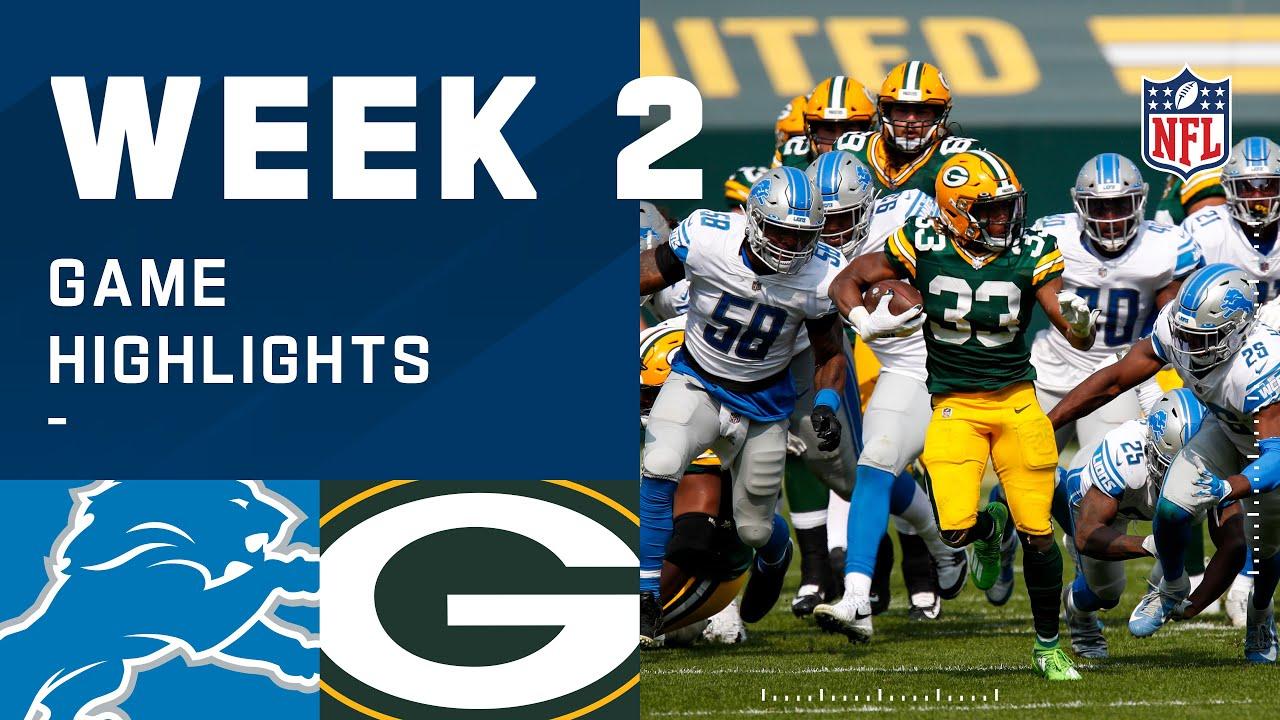 Lions vs. Packers Week 2 Highlights | NFL 2020