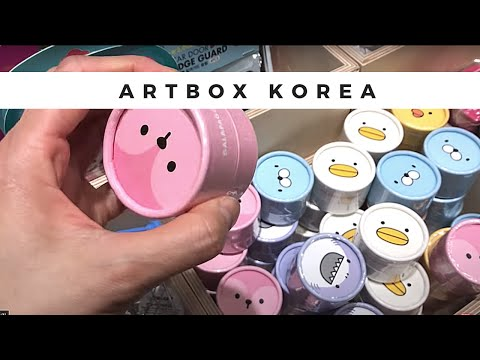 💗The Best Artbox Store in the World Part 2! 🎁 Myeongdong [명동] Shopping in Seoul Korea