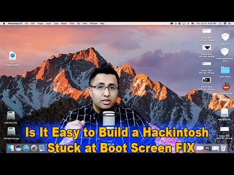 Successful  Hackintosh STUCK AT BOOT SCREEN FIX EXPLAINED macOS Sierra 10.12.5